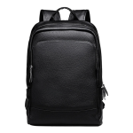 Hip Trendy Genuine Leather Backpack, Travel Computer Bag jjff