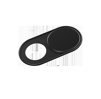 Metal Front Camera Web Camera Privacy Cover Black