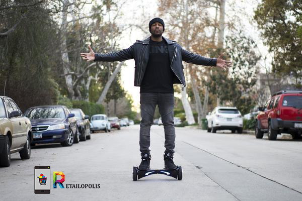 Retailopolis - Tank singer producer actor - hoverboard