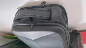 Hardshell Waterproof Backpack with Anti-Theft Lock and USB port photo review